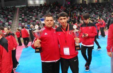 ETF Başkanlık Kupasında Kupalar Türkiye'nin